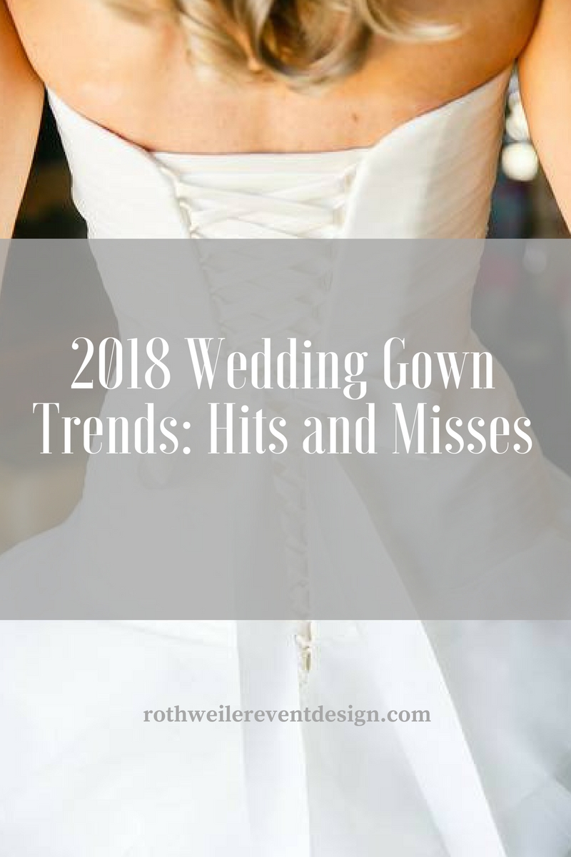 NYC 2018 Bridal Fashion Week: Top 10 Wedding Gown Trends