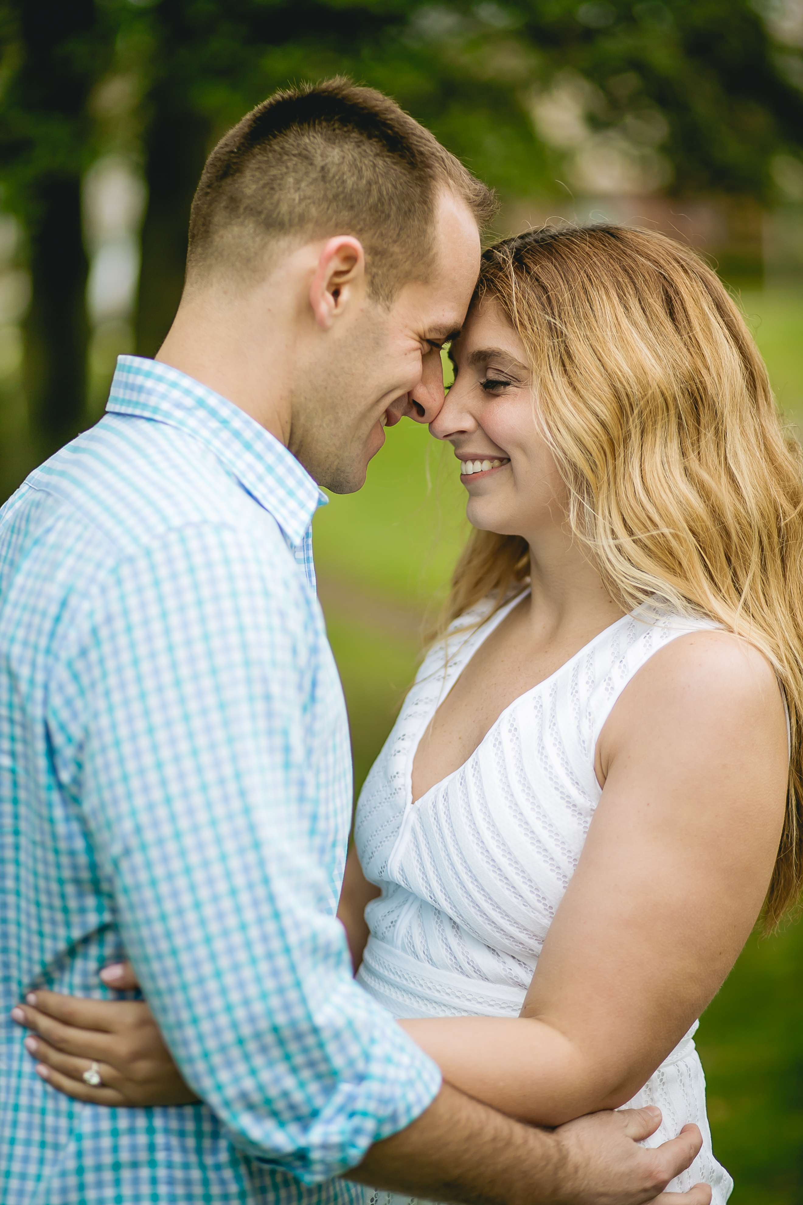 Our bride and groom picked a special place for their engagement session. Check out this blog and read why engagement sessions are important and how to make them great!
