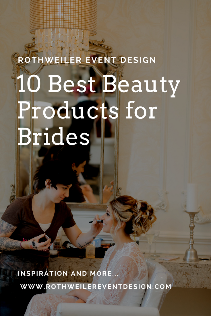 10 Best Beauty Products for Brides