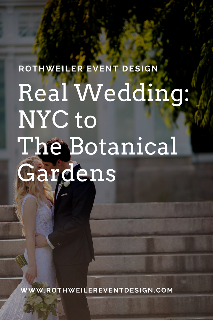 Our NYC based bride and groom gave us less than 6 months to plan and design their entire wedding at The New York Botanical Gardens! Read the blog to find out how we did it and get all the gorgeous details.