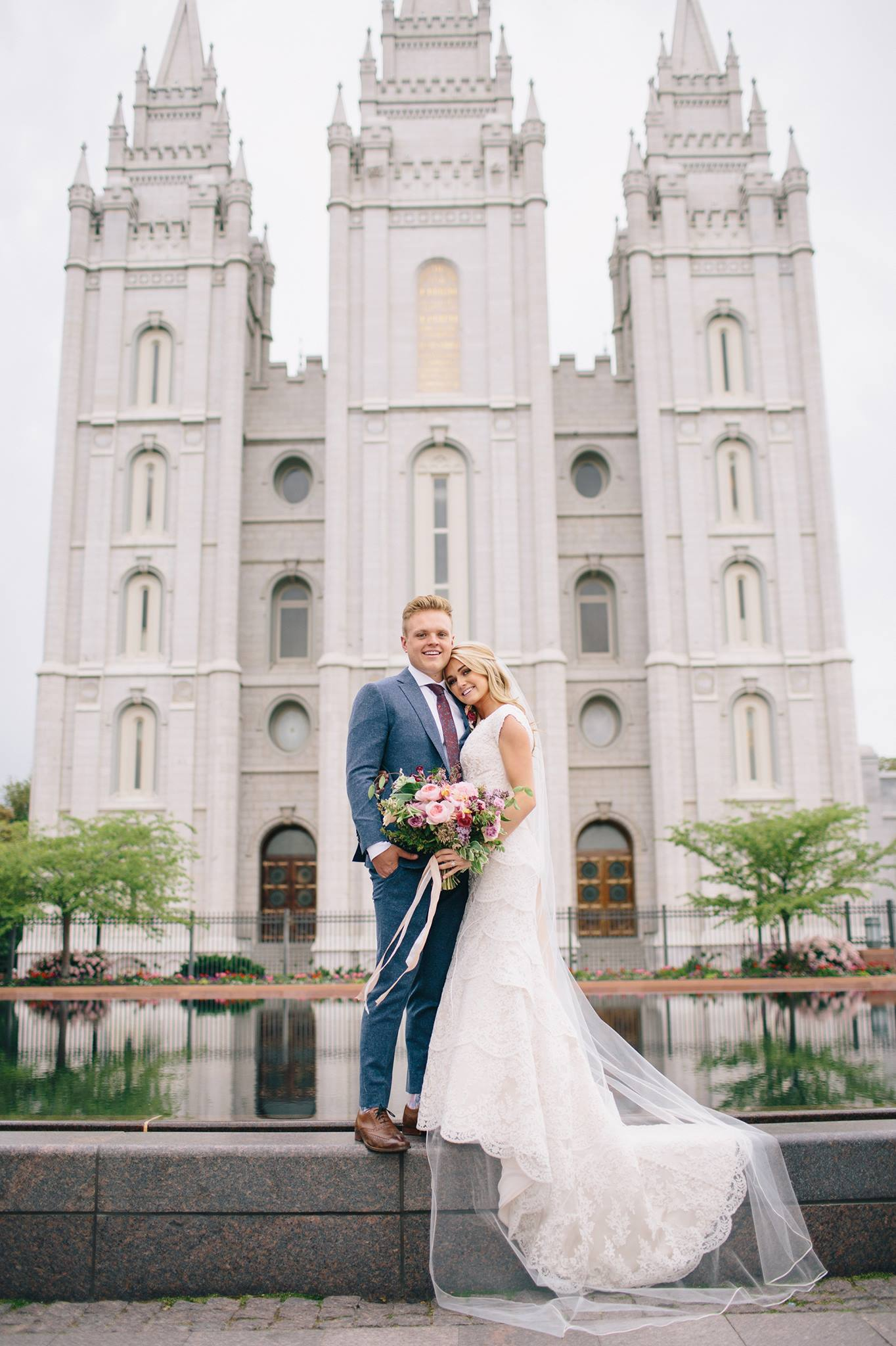 Salt Lake City Wedding Temple