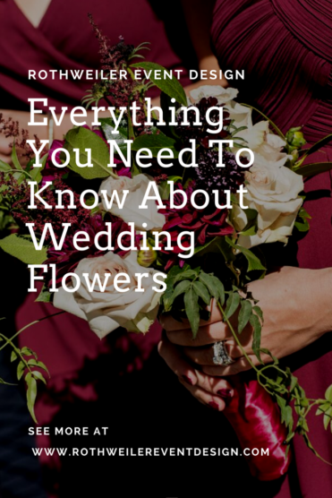 Everything you need to know about wedding flowers is in this blog, including advice from wedding florists for all engaged couples. Find out how to make the most of your floral budget and how to prepare for your appointments.