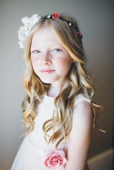 Flower girl ideas for a spring wedding