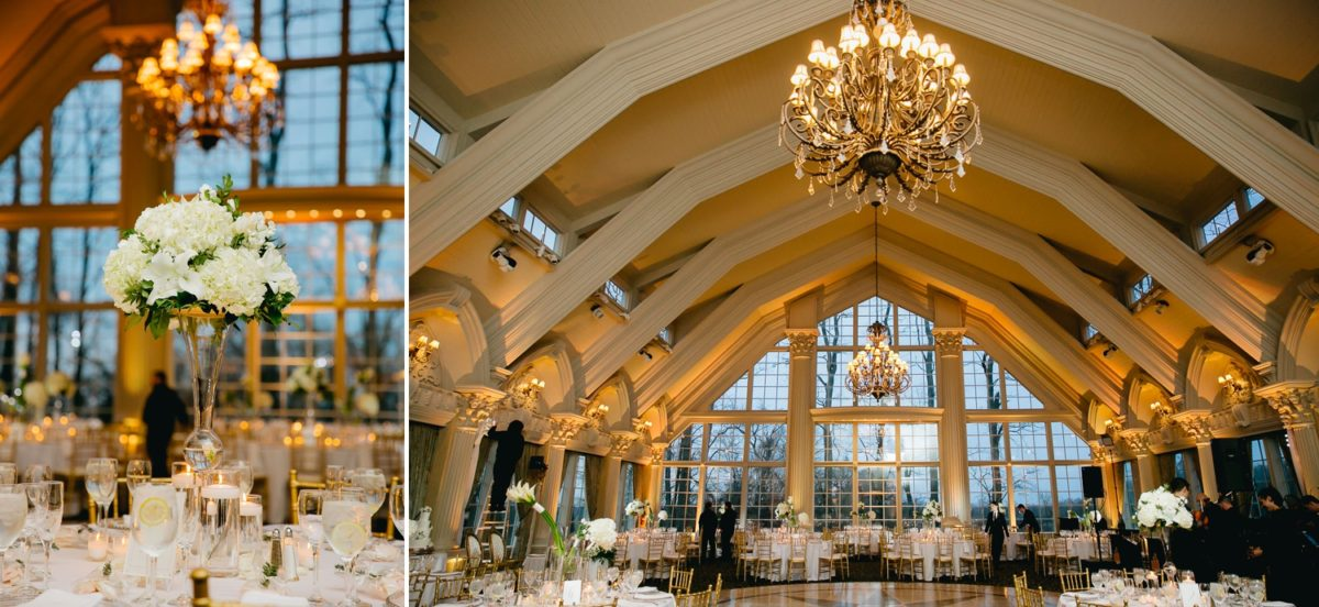 gorgeous ballroom wedding