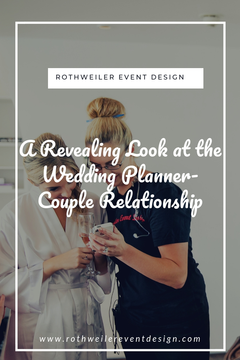 blog cover for a blog about being a wedding planner