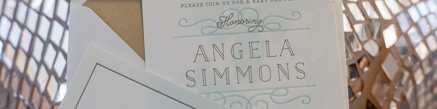 blue and white baby shower invitations