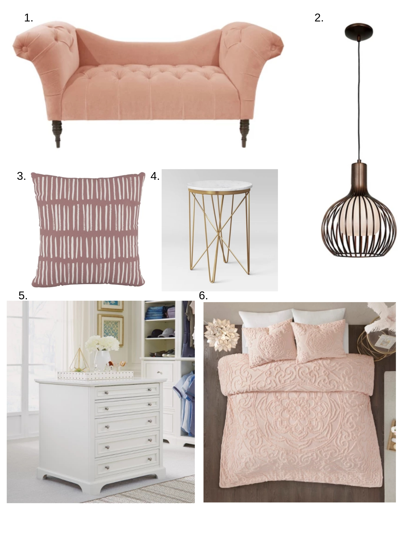 pink options from Target