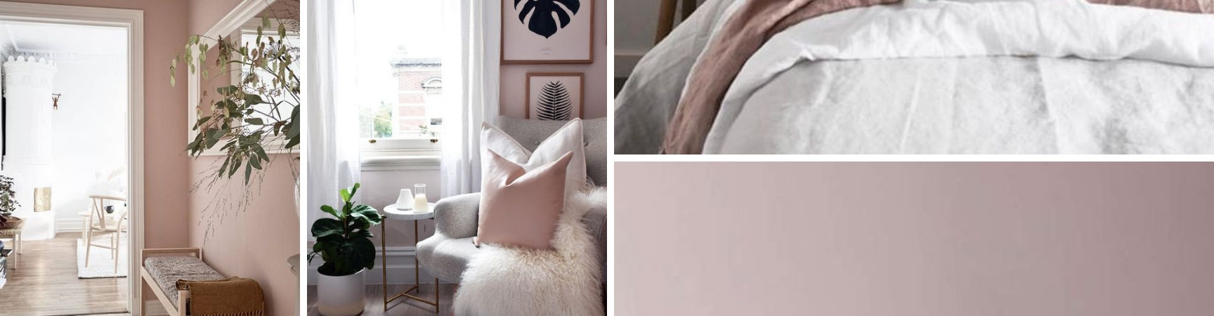 inspo board for blush home design