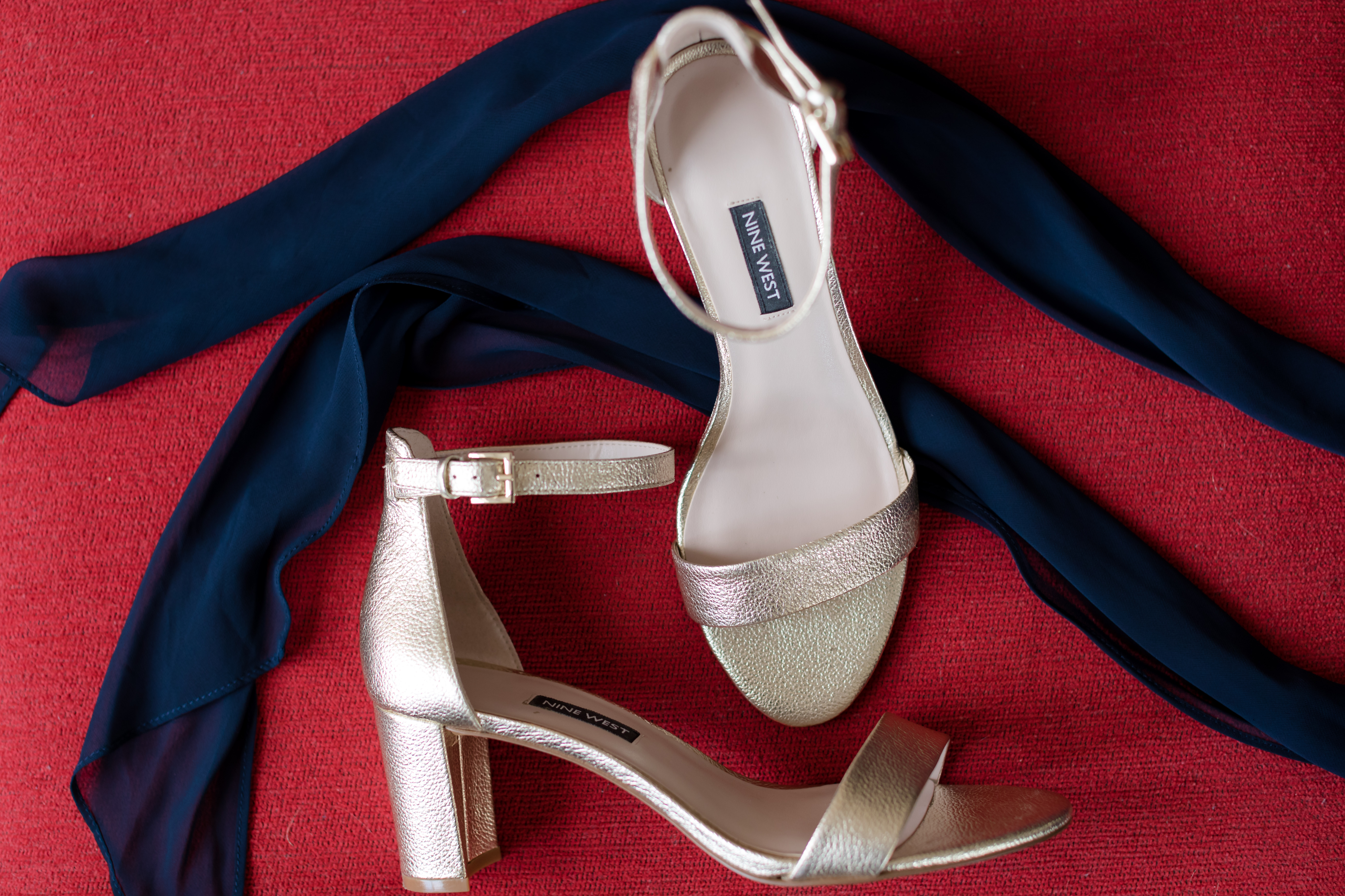 shoes and ribbon