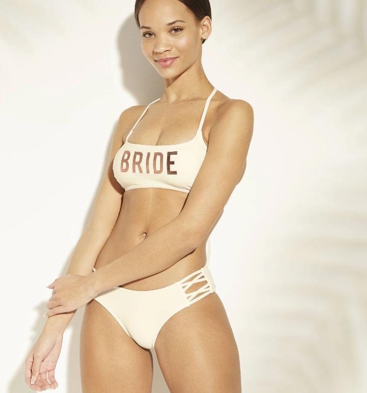 bride bikini from target