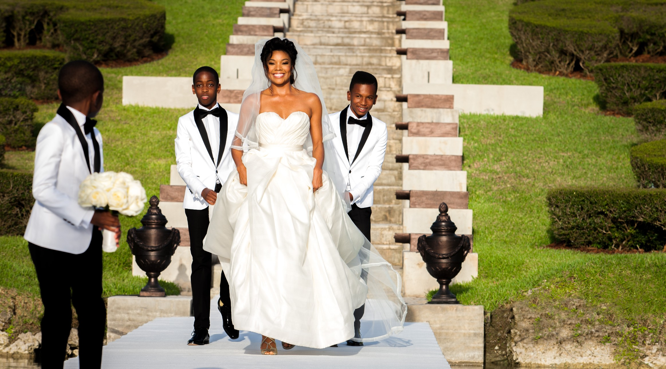 gabrielle union wedding