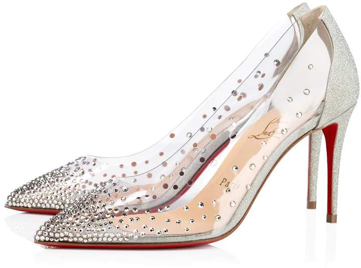 christian louboutin wedding heel