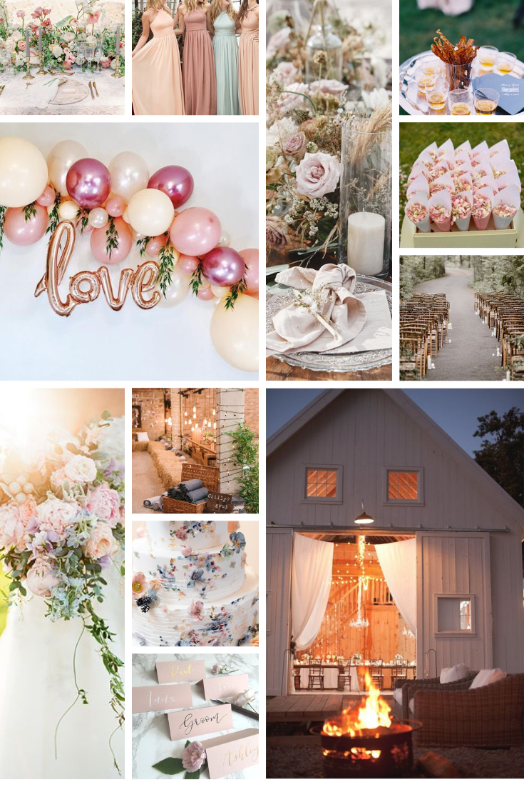 inspo board for wedding