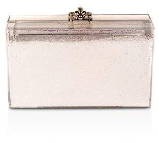 sparkly pink clutch purse