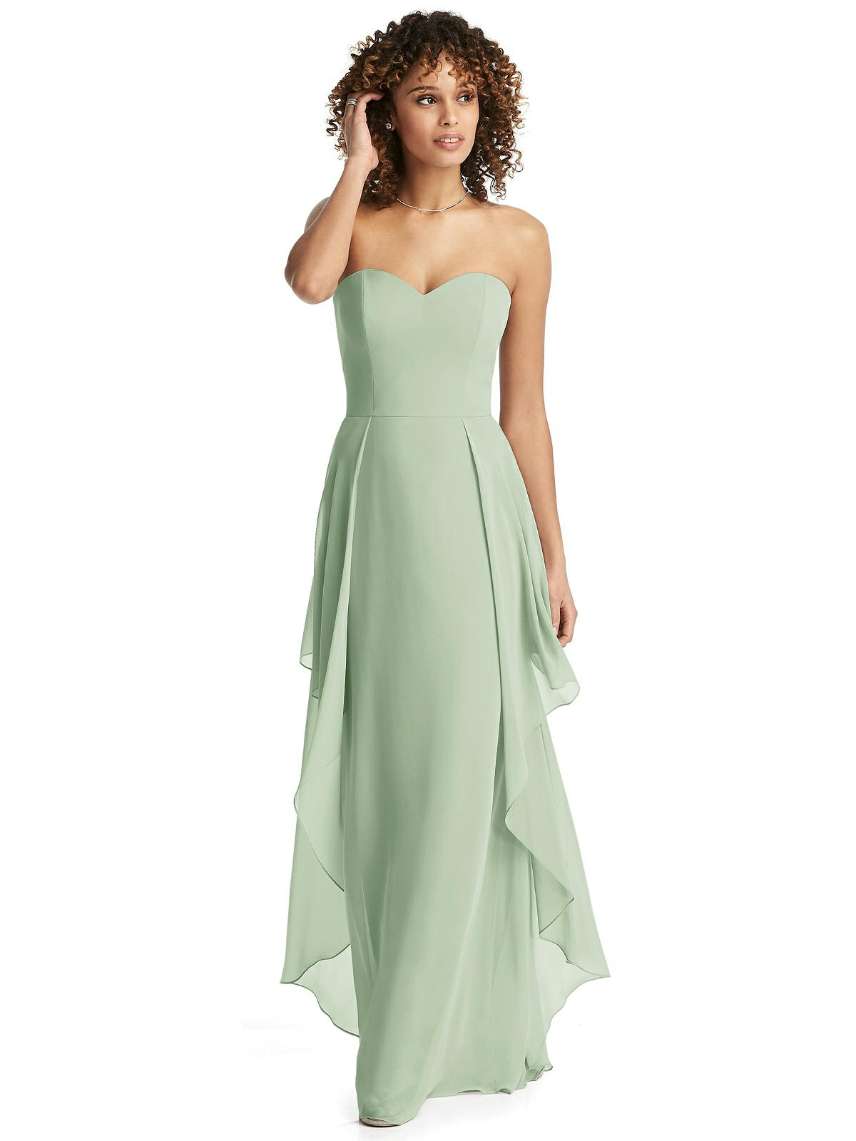 fall wedding bridesmaid dress celadon