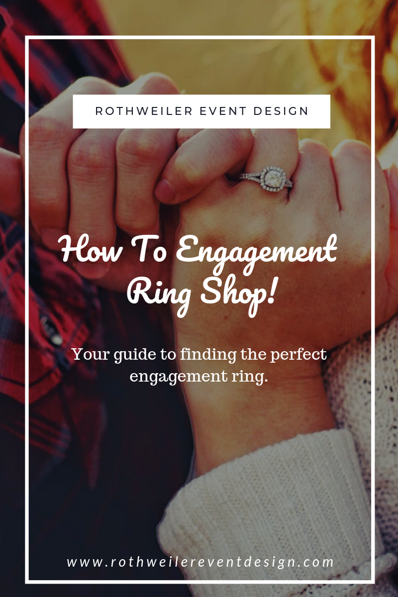 blog about engagement ring shopping