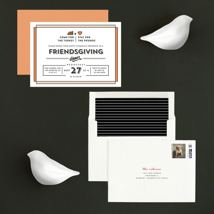 friendsgiving invitation suite