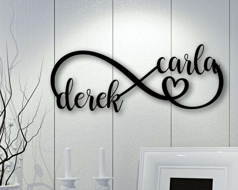 infinity name sign