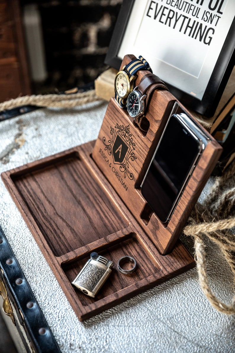 personalized docking station