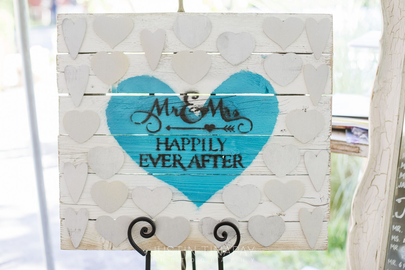 wedding guest book rustic