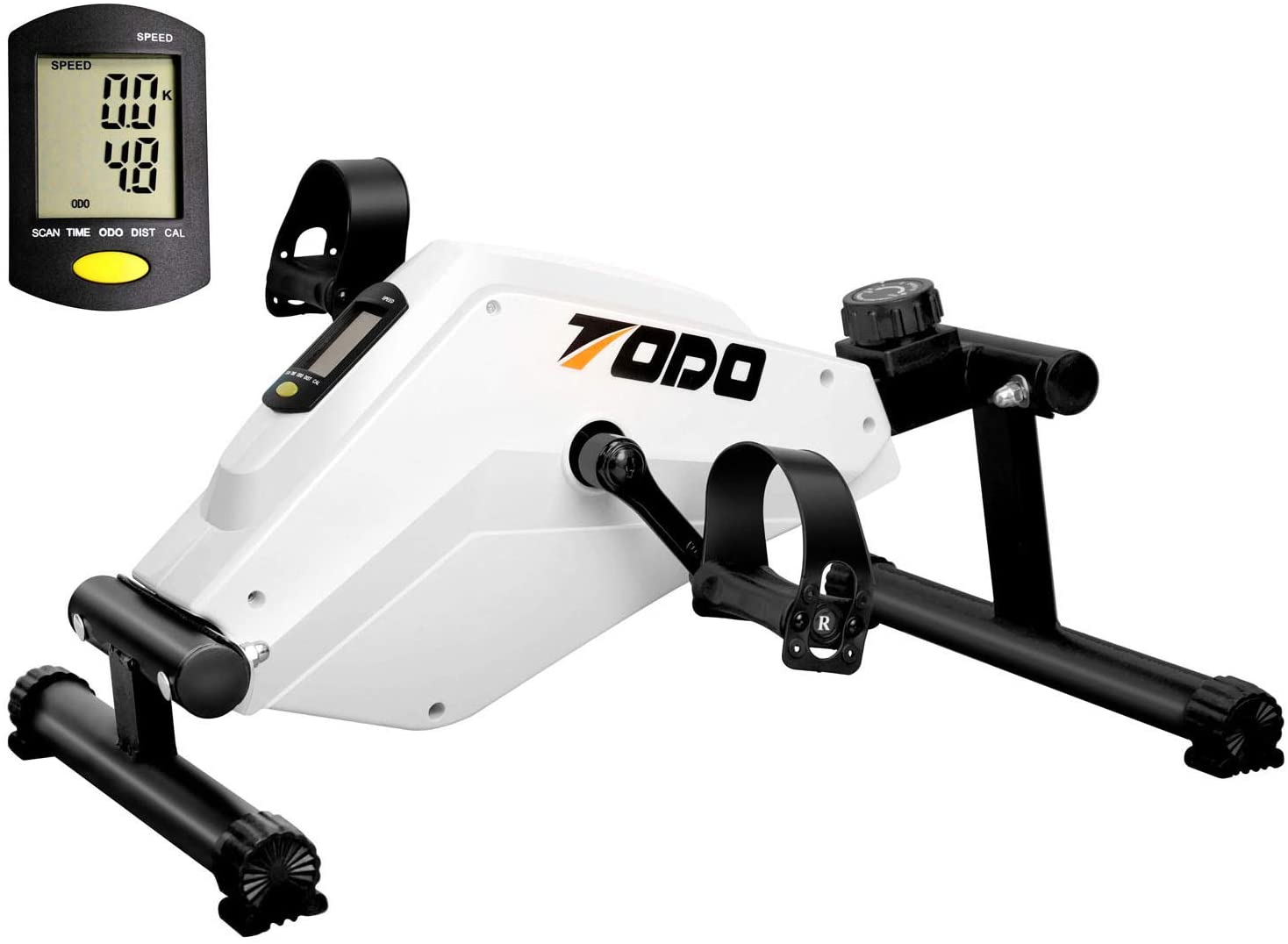 lower body workout equipment in white