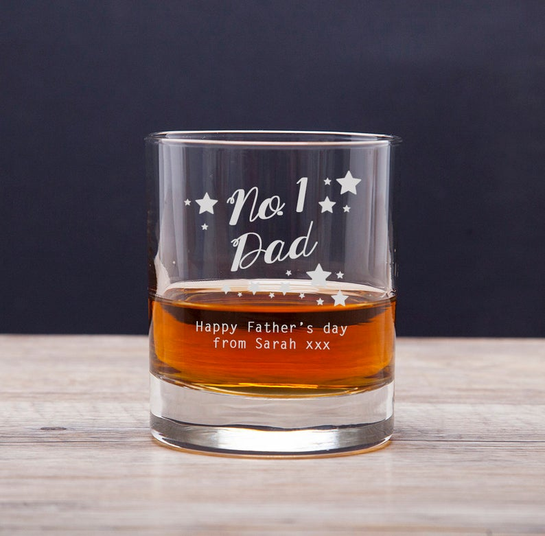engraved scotch tumbler