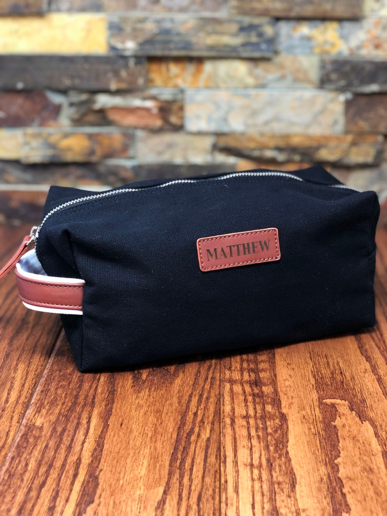 customized toiletry bag