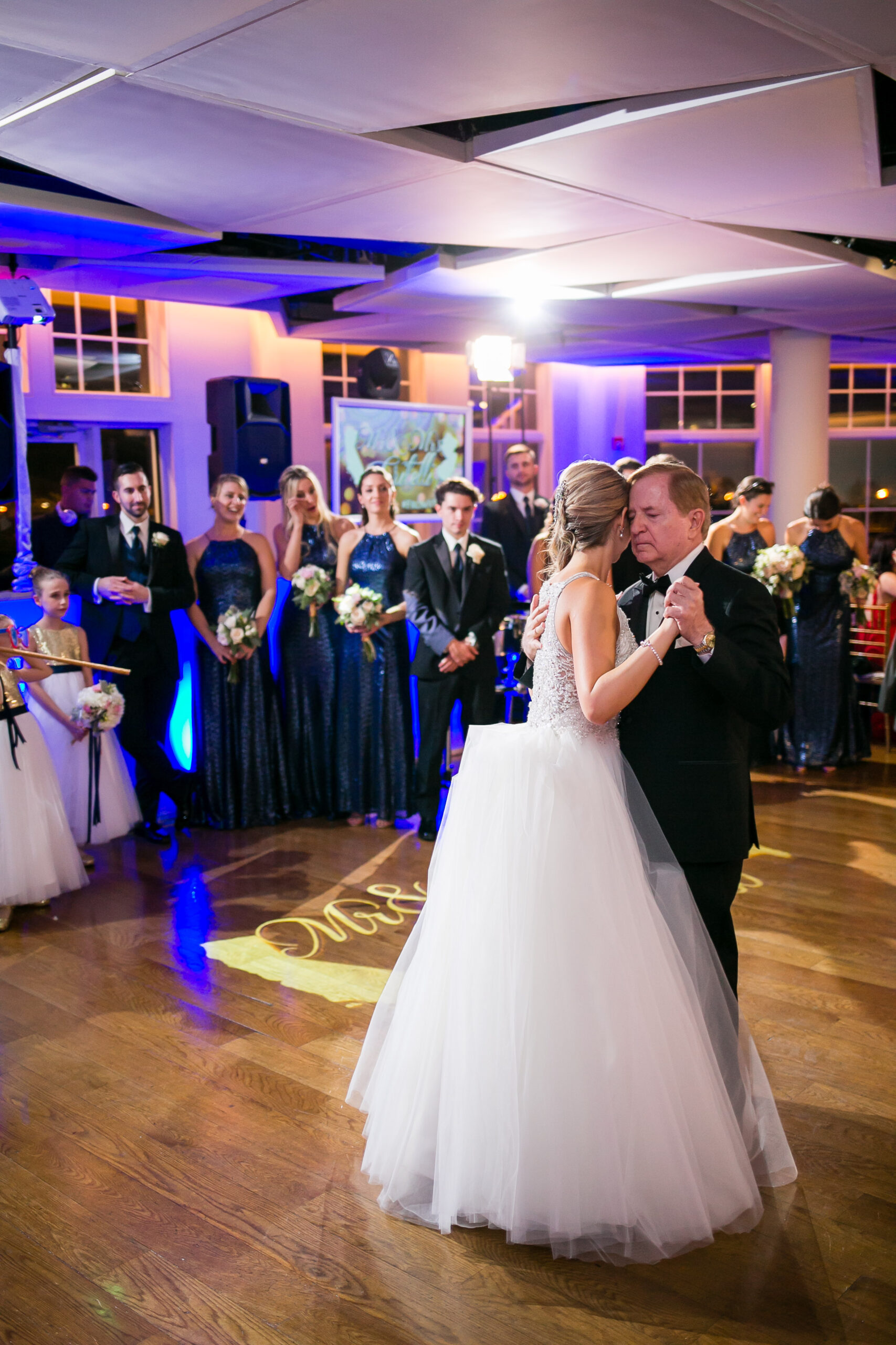 father of the bride dancing with daughter