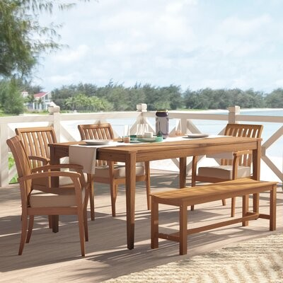 outdoor furniture table set